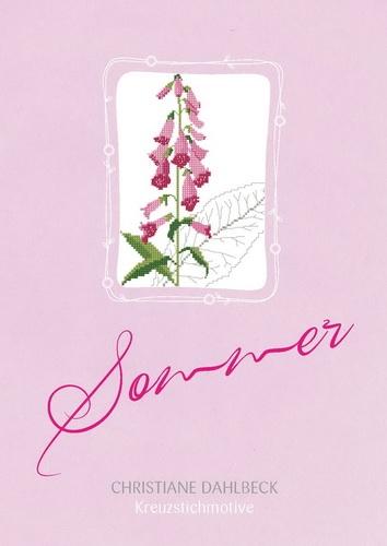Buch -Sommer-, Kreuzstichmuster