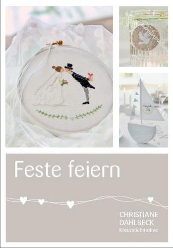 Buch -Feste feiern-, Kreuzstichmuster