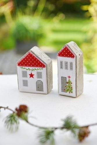 Stickpaket -Häuser-Set-