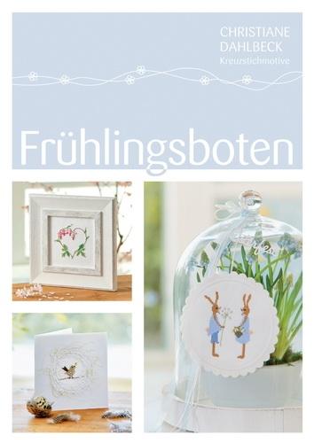 Buch Frühlingsboten, Kreuzstichmuster