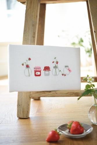 Stickdatei -Marmeladengläser-