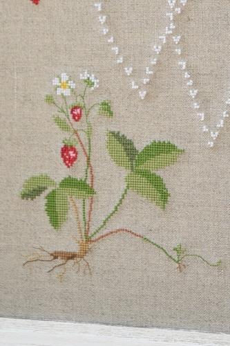 Stickdatei -Erdbeerpflanze-