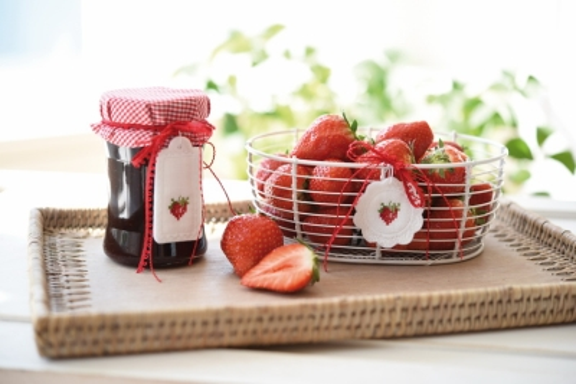 Stickdatei -Erdbeeranhänger-