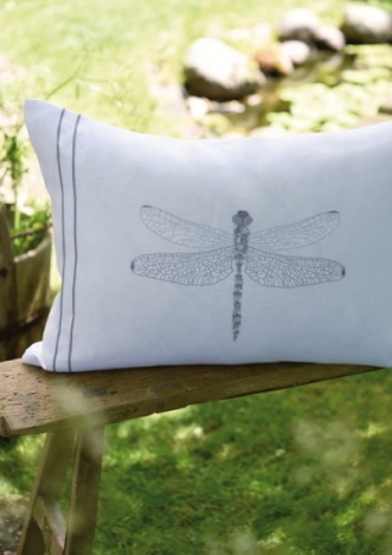 Kissenhülle -große Libelle-