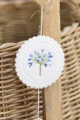 Stickbutton -Agapanthus, klein-