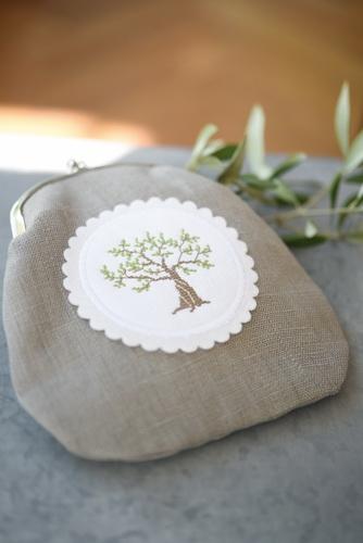 Geldbörse -Olivenbaum-
