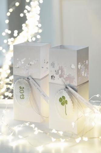 Papieraufsteller -Silvester-