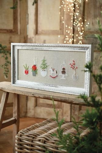 Stickdatei - Weihnachtsbild-