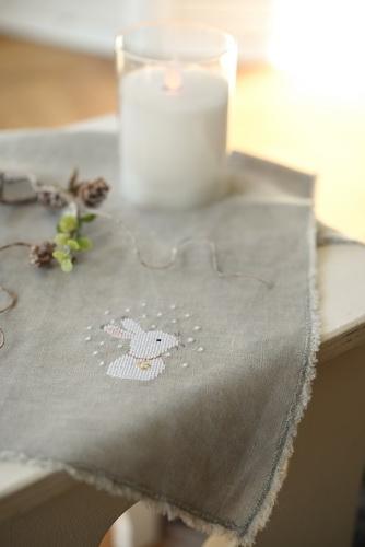 Stoffserviette (kleine Tischdecke)