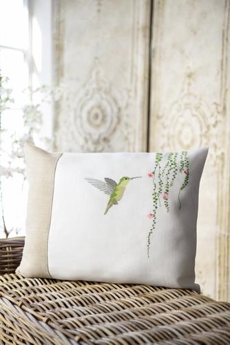Kissenhülle -Kolibri-