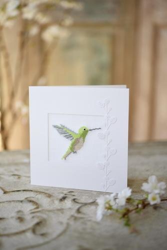 Passepartoutkarte -Kolibri-