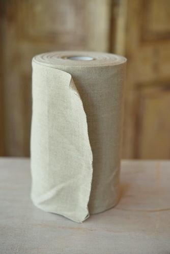 Stickband, ungebleicht, 20 cm breit