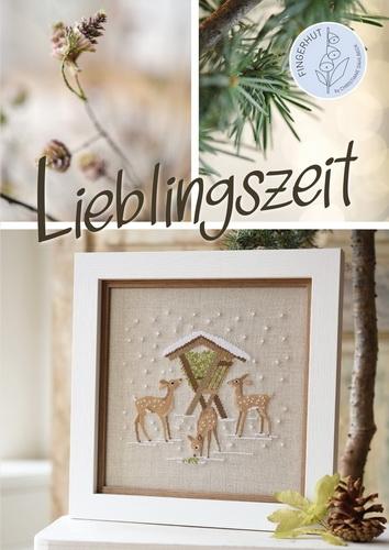 Buch -Lieblingszeit-, Kreuzstichmuster