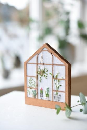 Gewächshaus -Holz-