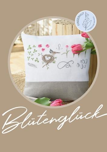Buch -Blütenglück- Kreuzstichmuster