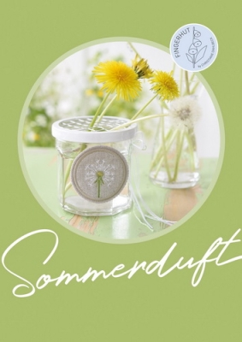 Buch -Sommerduft- Kreuzstichmuster