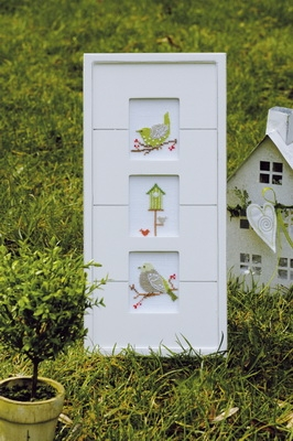 Einzelanleitung Grüne Vögel
