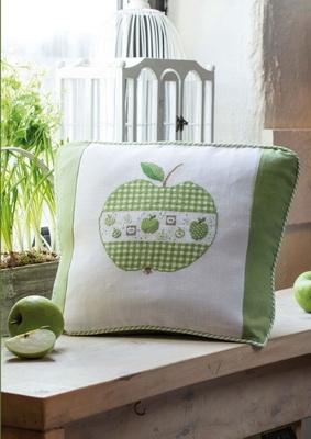 Kissen -Grüner Apfel-