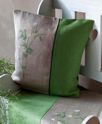 Kissen, grün