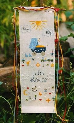 Stickpackung -für Julia-
