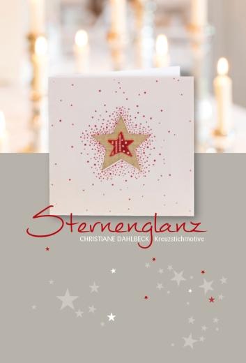 Buch -Sternenglanz-, Kreuzstichmuster