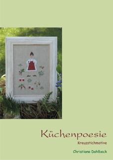 Leaflet Küchenpoesie, Kreuzstichmuster