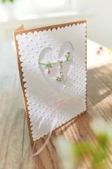Passepartoutkarte -Herz-