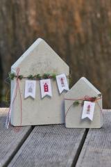 Wimpelkette -Häuser-