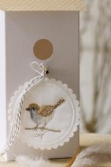 button -bird- , round