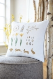 cushion cover -sampler March-