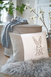 cushion cover -rabbit-