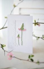 Passepartoutkarte -Blütenzauber-