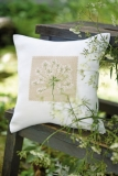 cushion cover -white-