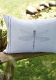 cushion cover -large dragonfly-
