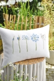 cushion cover -agapanthus-