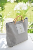 Stofftasche -Agapanthus-