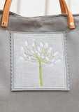 Stickbutton, grau -Agapanthus-