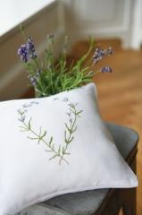 cushion cover -white-