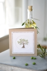 passepartoutcard -olive tree-