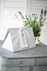 Geschenke-Box -Lavendel-