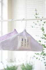 coat hanger- cover lavender-