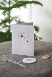 passepartoutcard -small red stars-