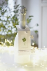 Flaschenanhänger -Silvester- (2 Stück)