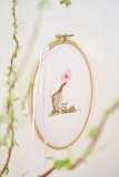 embroidery frame -oval-