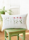 cushion cover -coneflower-