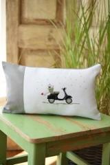 Kissenhülle -Motorroller-