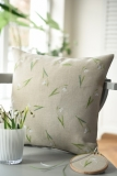 cushion cover -snowdrops-