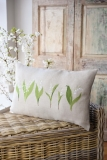 cushion cover - lily of the valley-
