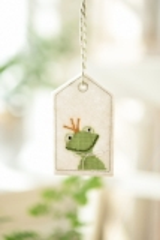Stickanhänger -Frosch-