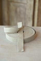 Leinenband, ungebleicht, 3 cm breit